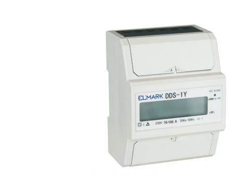 Contor electronic monofazat 10/100A de la Kalva Solutions Srl