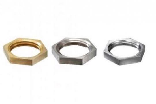 Contrapiulita hexagonala GM 24 M24x1.5 bronz de la Kalva Solutions Srl