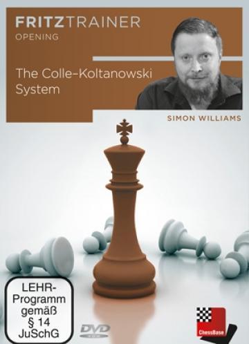 DVD The Colle - Koltanowski System -Simon Williams de la Chess Events Srl
