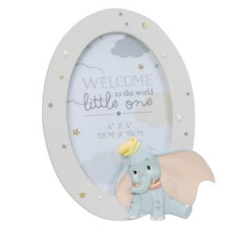 Rama foto ovala Dumbo Disney Magical Beginnings de la Krbaby.ro - Cadouri Bebelusi