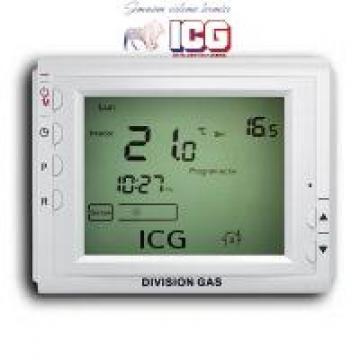 Termostat de ambient programabil Division Gas DG 908 WHB de la ICG Center