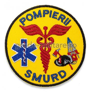 Emblema SMURD brodata de la Hyperion Trade