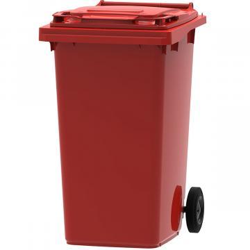 Europubela rosie 240 litri colectare acumulatori si baterii de la Sirius Distribution Srl