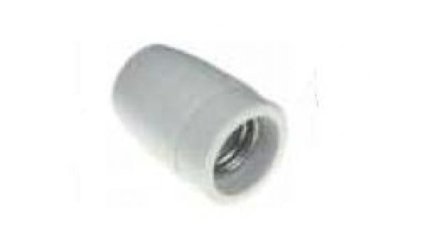 Fasung ceramic E27, 2A/250V 359918 de la Kalva Solutions Srl