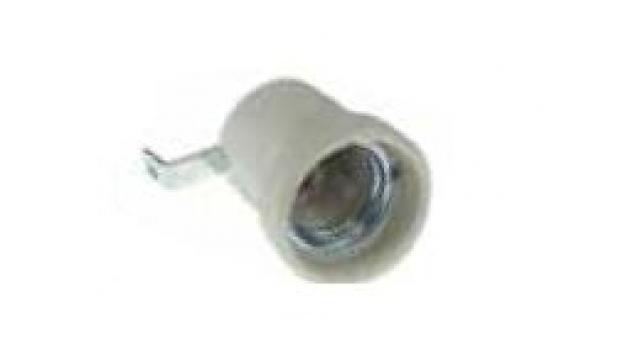 Fasung ceramic E27, 4A/750V 359666 de la Kalva Solutions Srl