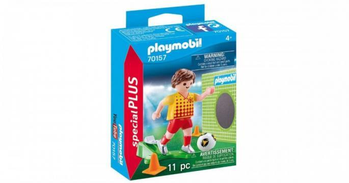 Figurina jucarie Fotbalist 70157 Playmobil