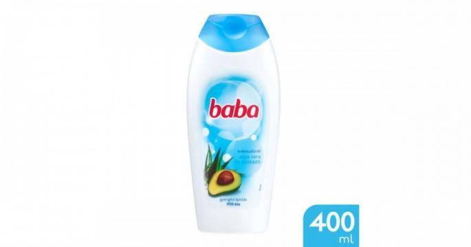 Gel de dus cremos cu Aloe Vera si Avocado Baba 400ml
