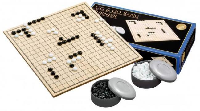 Joc Go Turneu 45 5 x 42 4 cm piese sticla de la Chess Events Srl