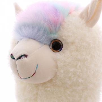 Jucarie de Plus Lama, Happy Face de la Mobilab Creations Srl