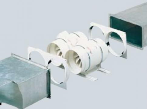 Kit ventilator special Twin Base-250+2TD-160/100 Mixvent