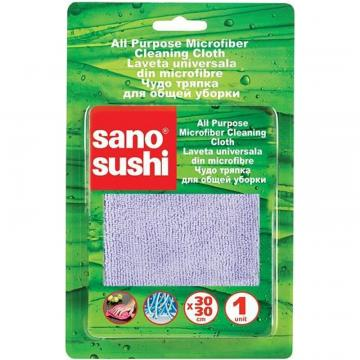Laveta de curatare microfibra Sano Sushi 30X30 (1 buc) de la Sirius Distribution Srl