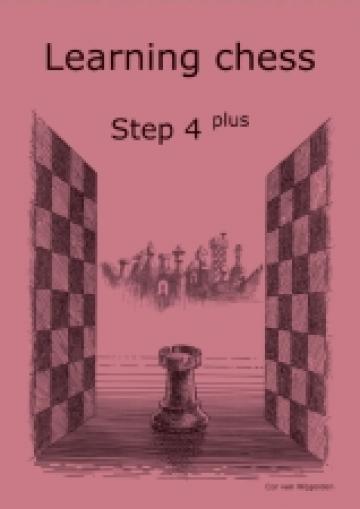 Carte, Learning chess Step 4 Plus Workbook de la Chess Events Srl