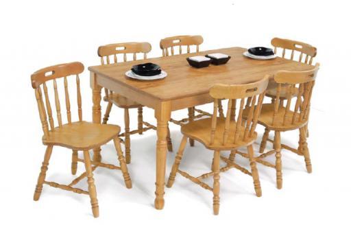 Masa si scaune bucatarie de la Mobirom