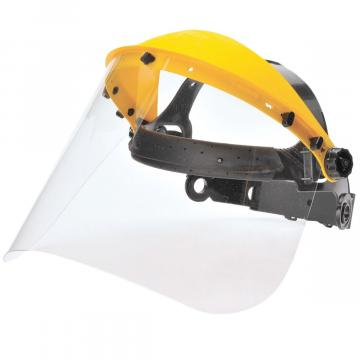 Masca protectie completa frunte, vizor transparent