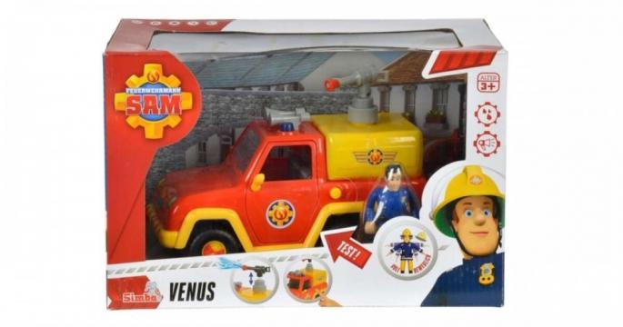 Jucarie Masina de pompieri Pompierul Venus cu Sam Simba Toys de la Pepita.ro