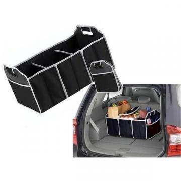 Organizator pentru portbagaj auto pliabil 2 in 1
