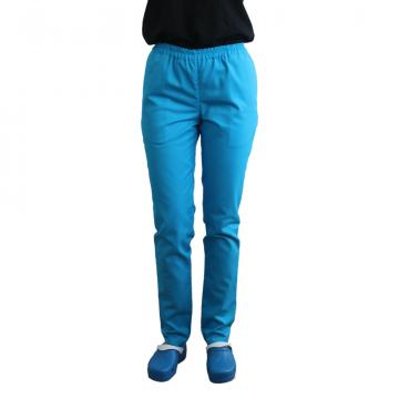 Pantaloni medicali galbeni cu elastic si doua buzunare de la Doctor In Uniforma SRL