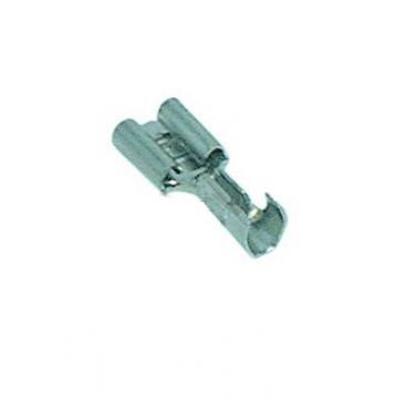 Papuc/faston mama 6.3x0.8mm, sectiune 1.0-2.5mm