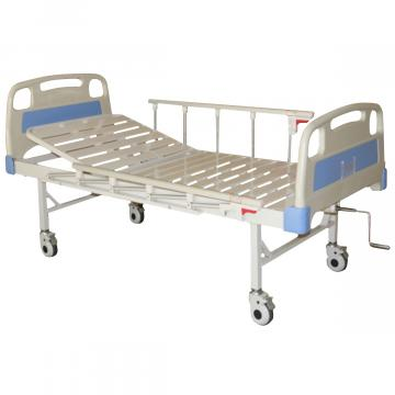 Pat spital 1 sectiune, fara saltea, laterale incluse de la Sirius Distribution Srl