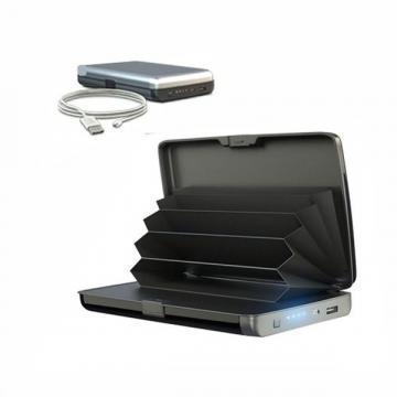 Portofel securizat cu baterie externa 2 in 1 E-Charge Wallet de la Startreduceri Exclusive Online Srl - Magazin Online - Cadour
