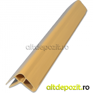 Profil coltar PVC W de la Altdepozit Srl