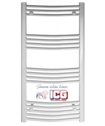 Radiator portprosop curbat 500x1200 de la ICG Center