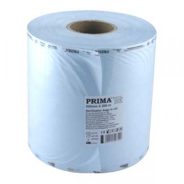 Rola pungi sterilizare 250mmx200m, autoclav/EO (1 rola) de la Sirius Distribution Srl