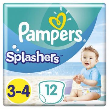 Scutece Pampers Splashers 6-11kg Midi 3-4 (12 buc)