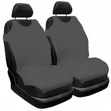 Set husa scaun, maieu, gri 2 buc., Carmax