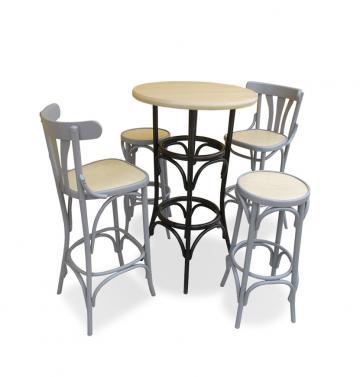 Set mobilier inalt bistro