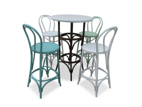 Set scaune si masa bistro colorate
