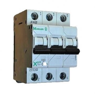 Siguranta automata 3P, 50A Moeller PL6-C50/3 de la Kalva Solutions Srl