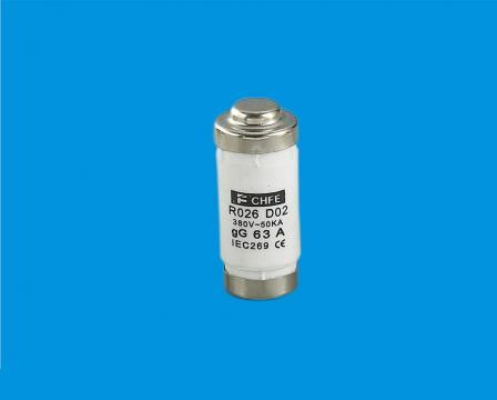 Siguranta ceramica cilindrica rapida 63A R026, RL8, RL8B de la Kalva Solutions Srl