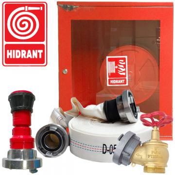 Cutie hidrant complet echipata (cutie hidrant, furtun PSI)