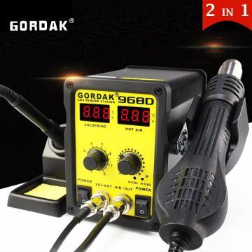 Statie de lipit cu aer cald si letcon Gordak 968D de la Retail Net Concept SRL