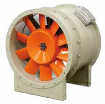 Ventilator axial extractor de fum THT- 160-6T/3-25