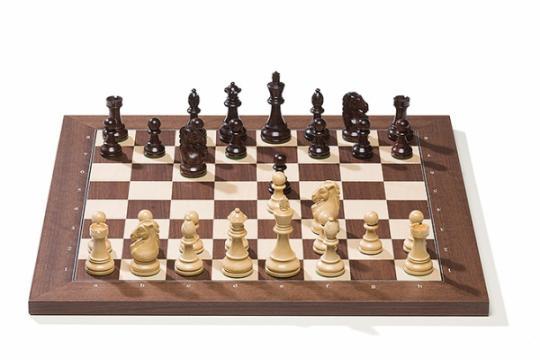 Tabla de sah electronica DGT (USB) rosewood/piese Royal de la Chess Events Srl