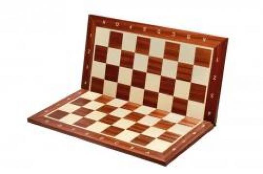 Tabla de sah pliabila lemn no 5 mahon de la Chess Events Srl