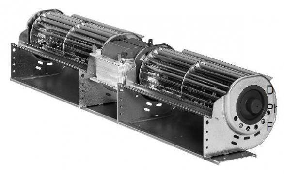 Ventilator tangential QLK45/1212-3030