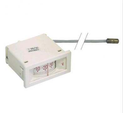 Termometru mecanic 58x25mm, -40.....+40C, sonda 6mmx35mm