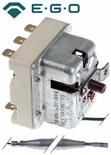Termostat de siguranta 240*C, 3poli, 20A, bulb 6mmx177mm