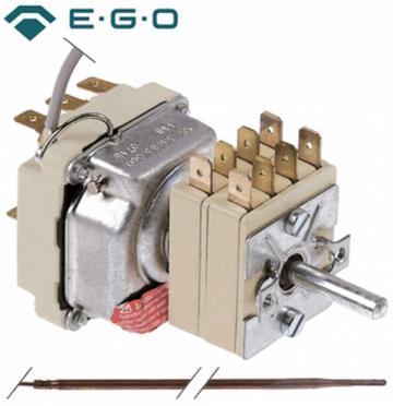 Termostat reglabil 100-440C, 3NO, bulb 3.9mmx228mm de la Kalva Solutions Srl