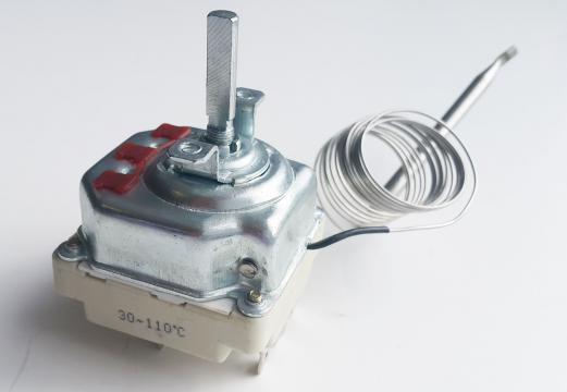 Termostat reglabil 30 - 90 C 16A