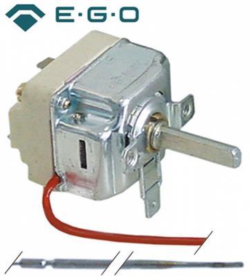 Termostat reglabil 50-270*C, 1NO, 16 A, bulb 3mmx219mm