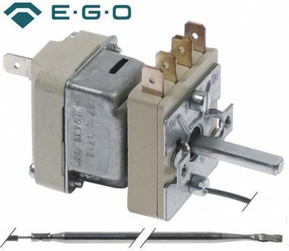Termostat reglabil 91-185C, 1NO, 0.5A, bulb 4mmx235mm