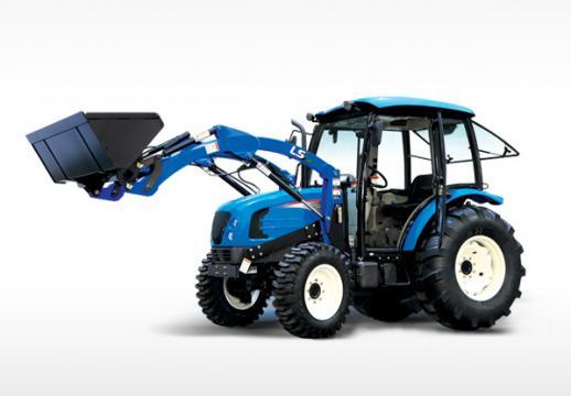 Tractor LS Mtron U60 Cabina de la Romagrotehnica Srl.