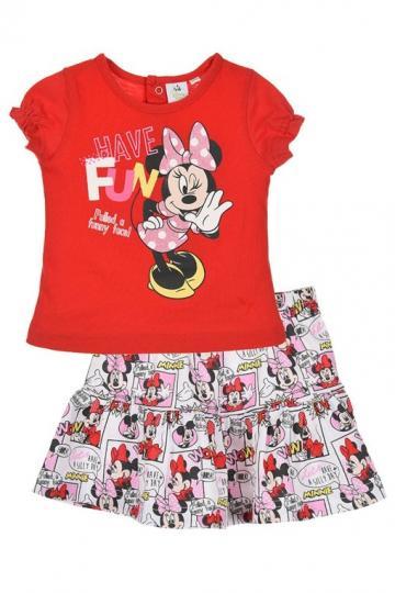 Set tricou si fusta pentru fetite de la A&P Collections Online Srl-d