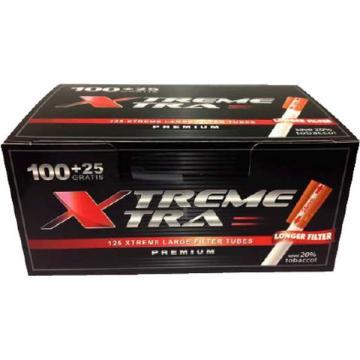 Tuburi de tigari cu filtru lung Xtreme Xtra 125 de la Startreduceri Exclusive Online Srl - Magazin Online - Cadour