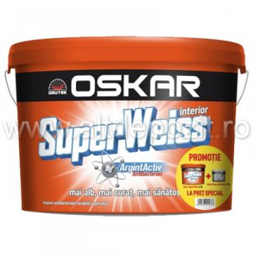 Vopsea lavabila Oskar SuperWeiss interior de la Altdepozit Srl