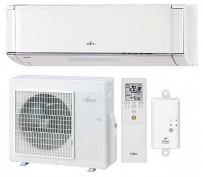 Aer conditionat Fujitsu Nocria X ASYG12KXCA-AOYG12KXCA DC de la Sc Celfar Industrial Srl